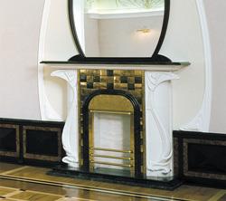 Современный камин